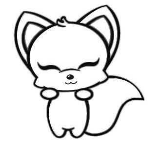 标题:小狐狸人呢?